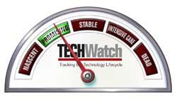 Promising TechWatch dial
